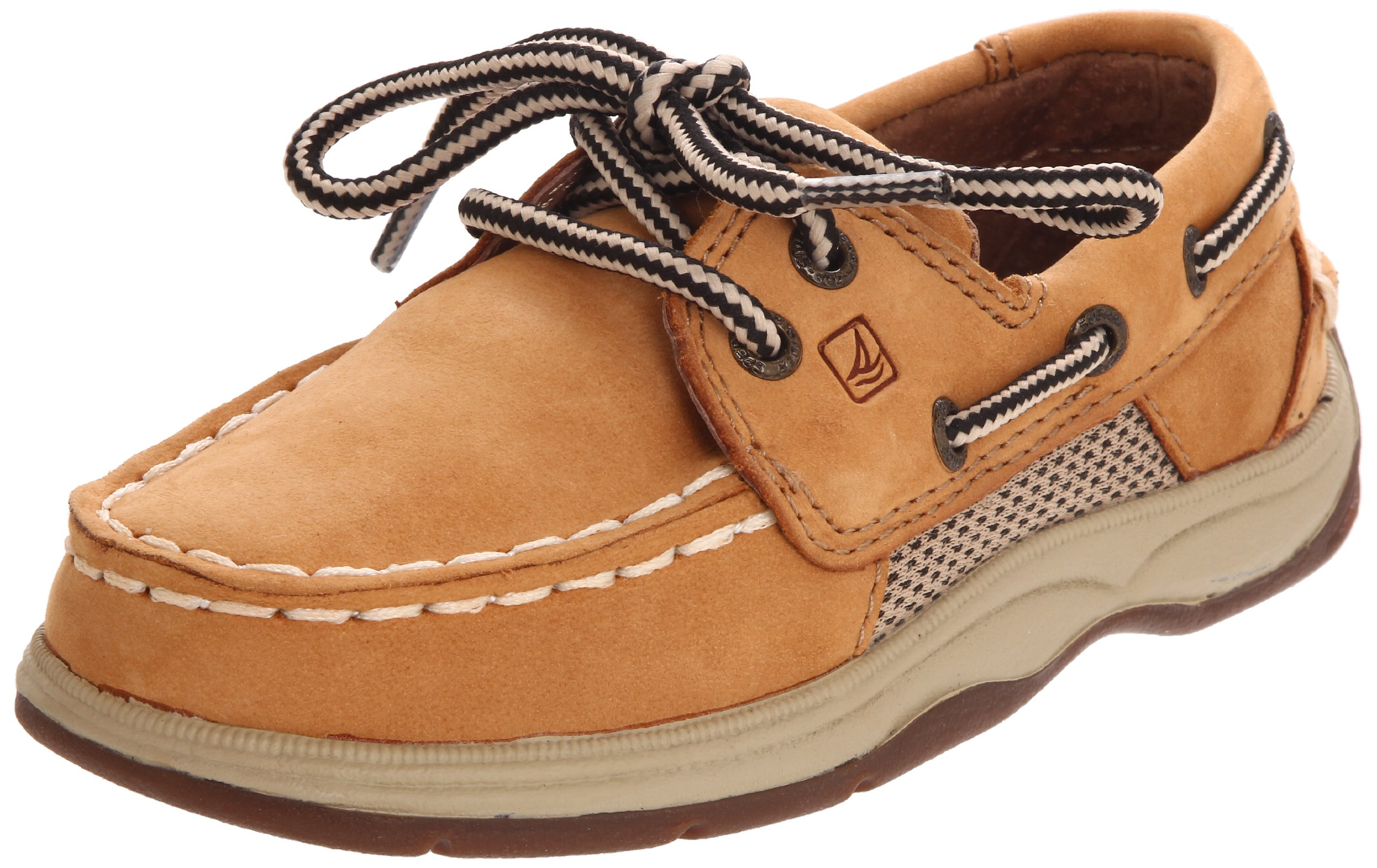 Sperry Top-Sider Intrepid Boat Shoe (Toddler/Little Kid/Big Kid),Linen,10.5 M US Little Kid