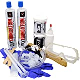 RadonSeal Concrete Foundation Crack Repair Kit (10 ft) - The Homeowner's Solution to Fixing Basement Wall Cracks Like The Pro