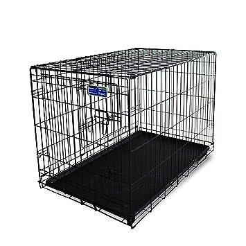 Simply Maison | Perros Jaula | Transport Box | alambre jaula con 2 puertos, ruedas y asa para el transporte (rollos de talla S - XL): Amazon.es: Productos ...