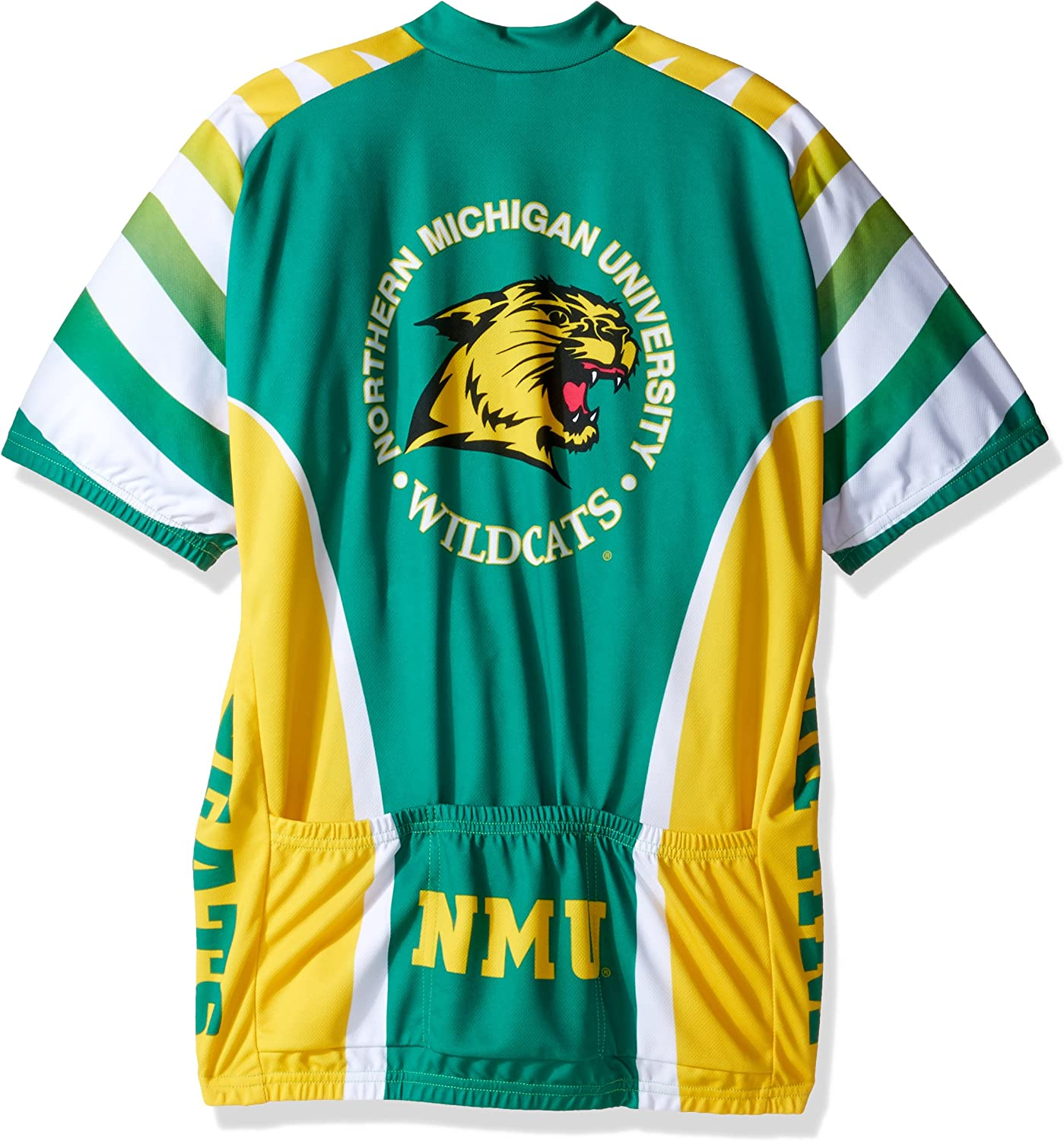Adrenaline Promotions NCAA Northern Michigan Wildcats Cycling Jersey