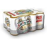 San Miguel Cerveza - Paquete de 12 x 330 ml - Total: 3960 ml