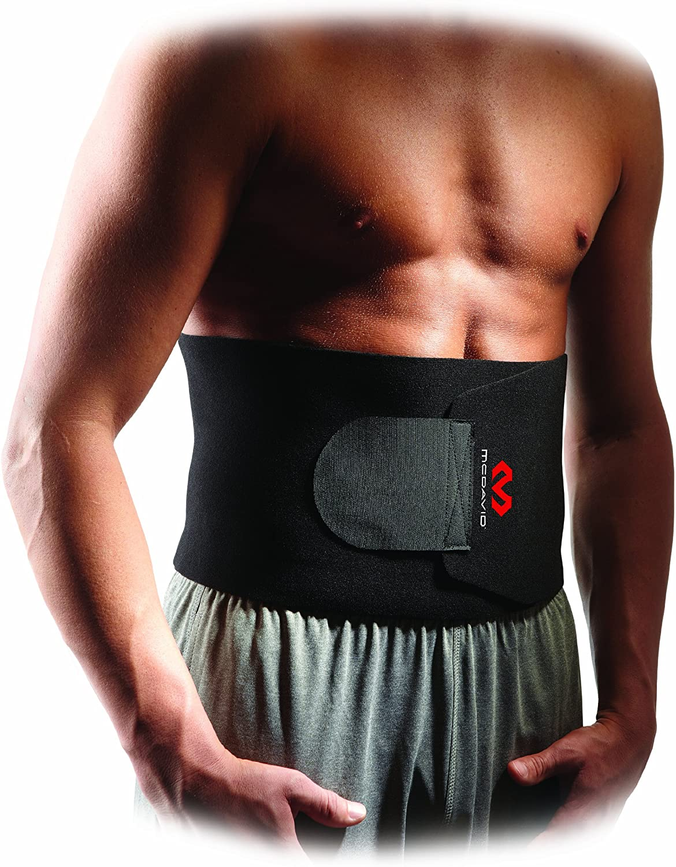 McDavid Waist Trimmer Belt Neoprene Fat Burning Sauna Waist Trainer - Promotes Healthy Sweat, Weight Loss, Lower Back Posture (Includes 1 Belt) : Waist And Abdomen Supports : Sports & Outdoors