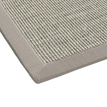 Bodenmeister Sisal Teppich Modern Hochwertige Bordüre Flachgewebe