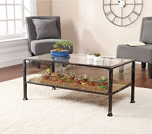 SEI Furniture Terrarium Display Coffee Table