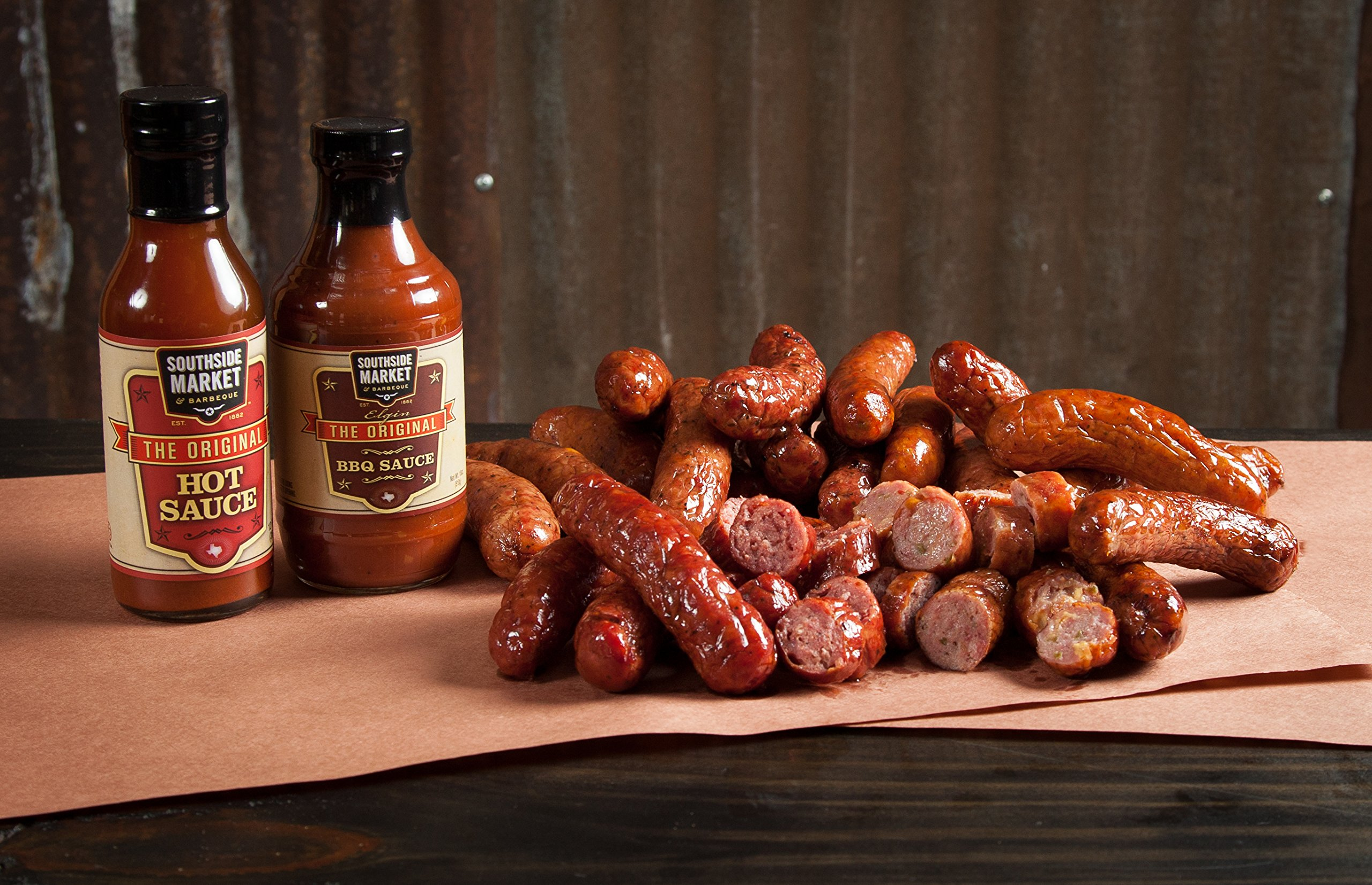 Smoked Sausage Sampler - 6 Different Flavors by Southside Market & Barbeque (Image #3)