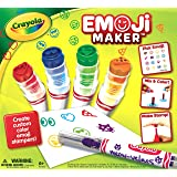 Crayola Emoji Maker, Marker Stamper Maker, Art Activity and Art Tool, Makes a Great Gift