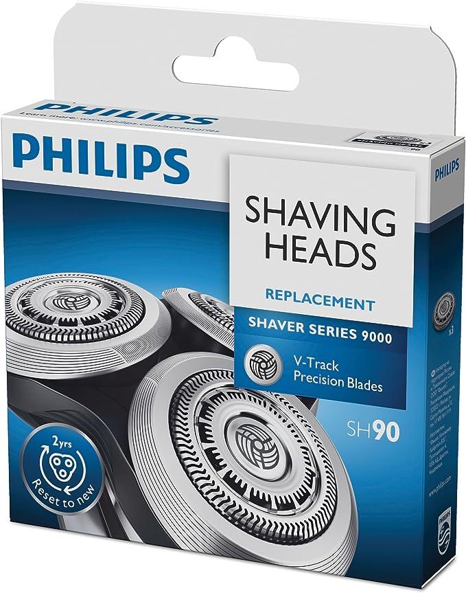 Philips SH90/50 - Cabezal para afeitadora serie 9000, Pack of 3: Amazon.es: Salud y cuidado personal