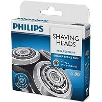 Philips SH90/50 Lot de 3 têtes de rasage compatibles pour Series 9000