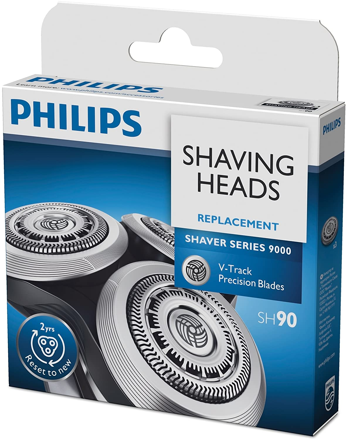 Philips Shaver Series 9000 shaving heads 3-pack [SH90/50]