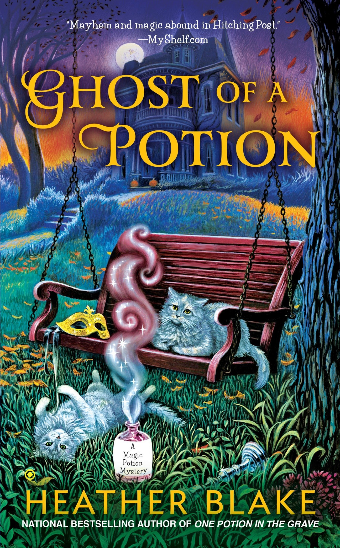 Download Ghost of a Potion (A Magic Potion Mystery) pdf epub