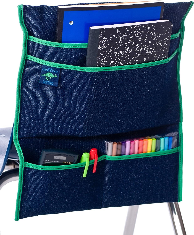 Amazon Com Aussie Pouch Over The Chair Pocket Storage Organizer Home Kitchen