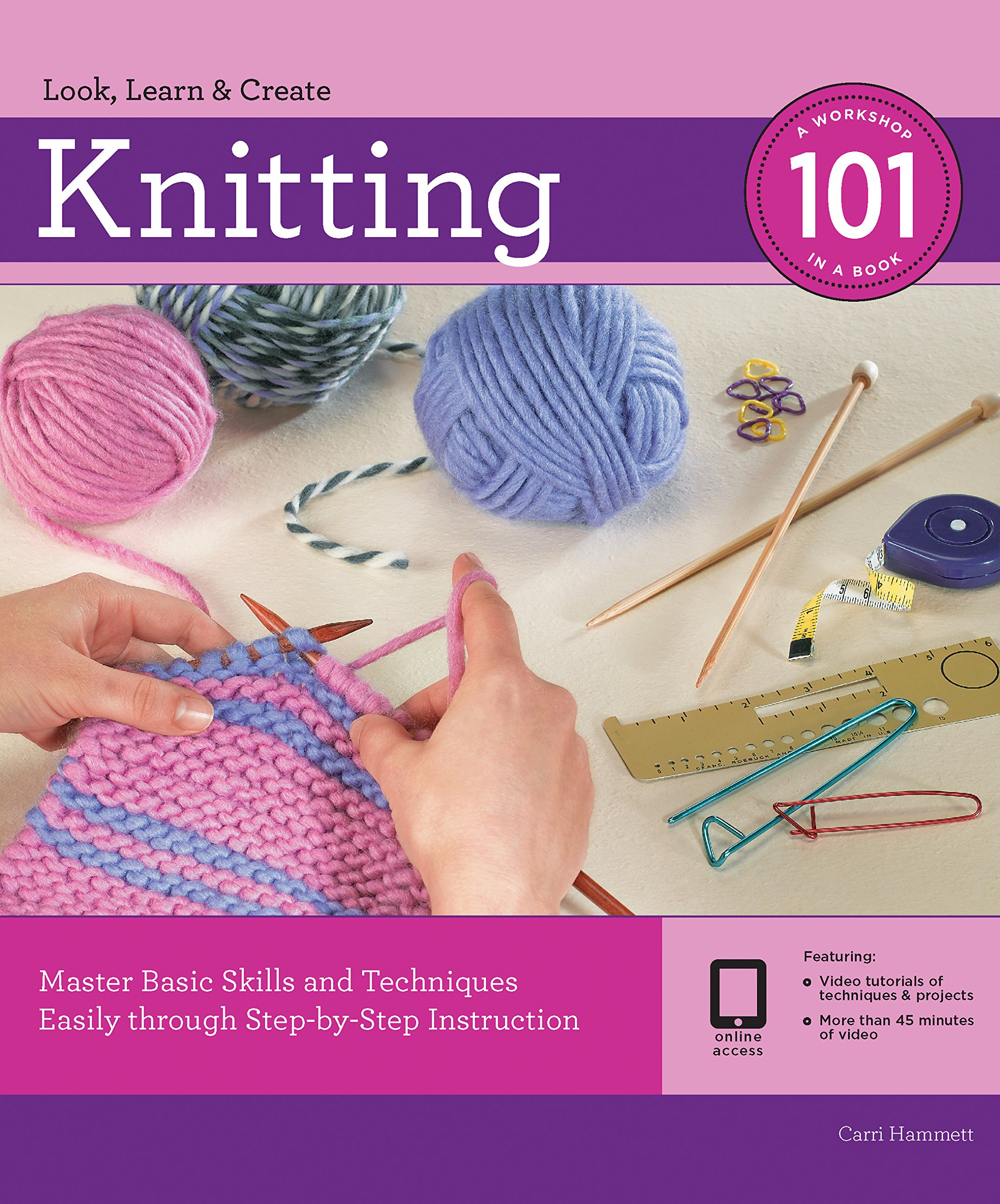 Knitting 101 Step Step Instruction