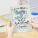 La mente è meravigliosa- Quaderno A5- Disegno e frase motivazionale-Regalo amica