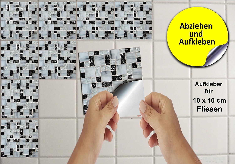 Tp u tile style decals modello adesivo per piastrelle a