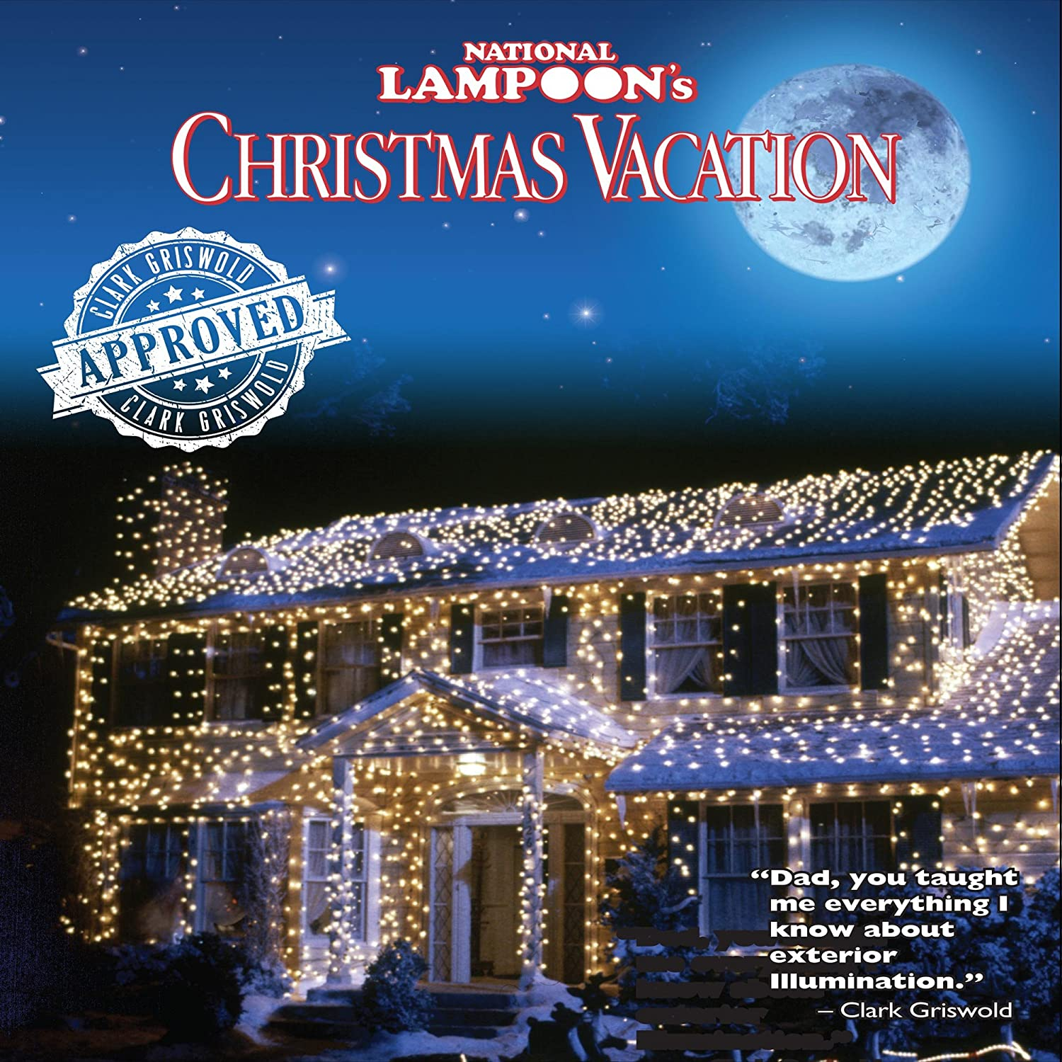 amazoncom national lampoons christmas vacation led m8 mini light set blue green wire 50 light 17 long garden outdoor