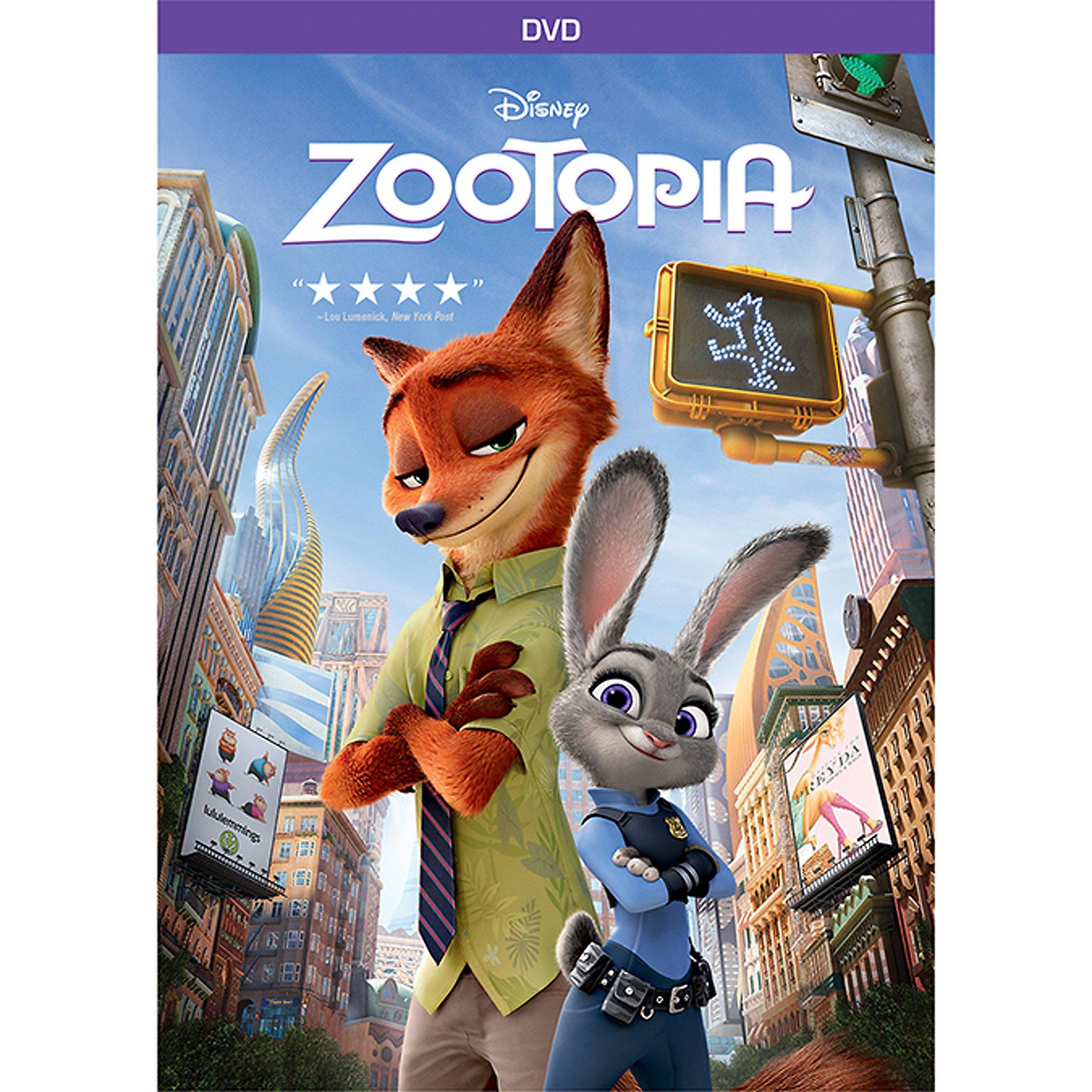 Zootopia (DVD,2016, Animation)