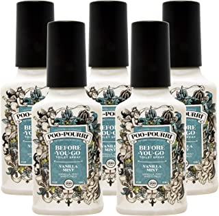 product image for Poo-Pourri Vanilla Mint 4 Ounce - 5 Pack