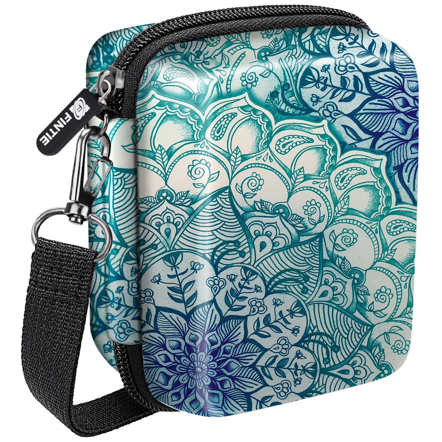 Fintie Carrying Case for pryntポケット, ACBB004US B07C5N6LCN Z-Emerald Illusions