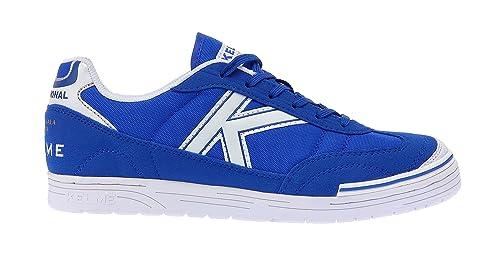 Kelme Trueno Sala, Botas de fútbol Unisex Adulto, Azul (Royal), 35