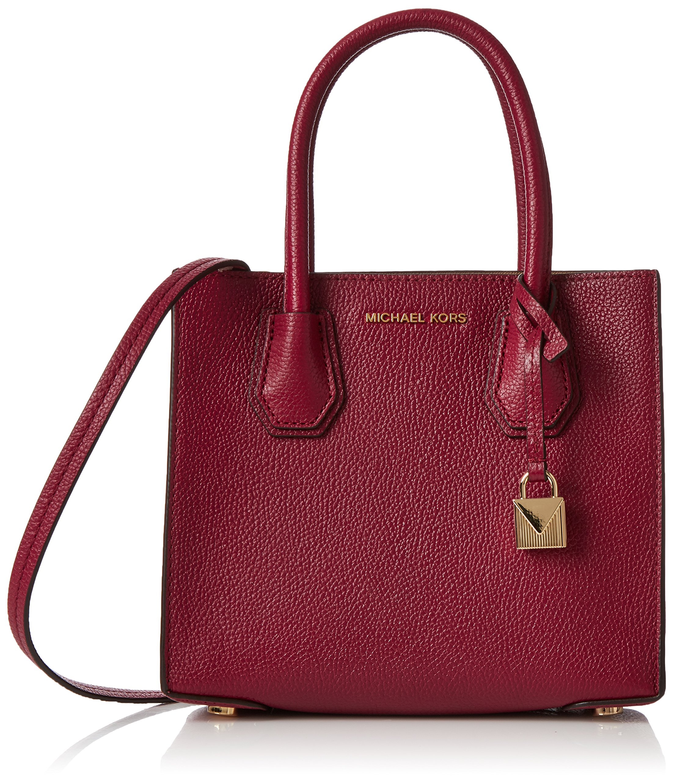 MICHAEL Michael Kors Women's Medium Mercer Messenger Bag, Mulberry, One Size by MICHAEL Michael Kors