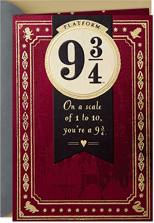 Themed Cards Harry Potter Always card Muggle cards HP Books /& Film Related Anniversary Love Valentine/'s Day