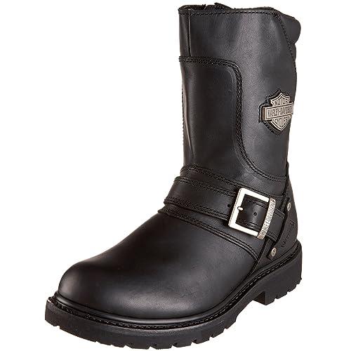 Harley Davidson Hombre Booker Cuero Botas: Amazon.es: Zapatos y complementos
