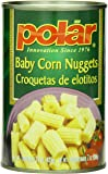 MW Polar Canned Vegetables, Baby Corn Nuggets, 15-Ounce (Pack of 12)