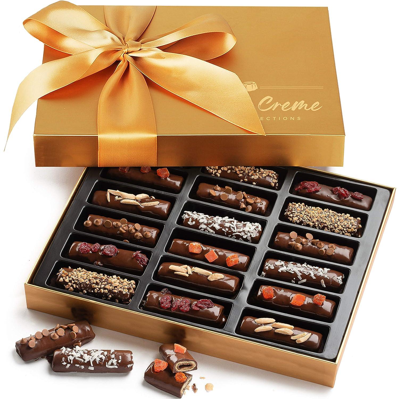Hazel & Creme Chocolate Hazelnut Wafer Gift - Mothers Day Food Gift - Gourmet Food Basket
