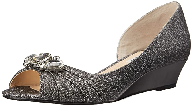 Nina Women s Romina YF Wedge Pump Charcoal 5.5 B(M) US: Buy Online at Low  Prices in India - Amazon.in