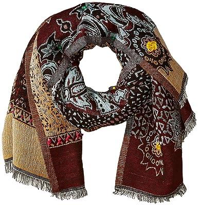 71f348543e3e Desigual Scarf INDIA2-18WAWW45-3017-U  Amazon.fr  Vêtements et accessoires