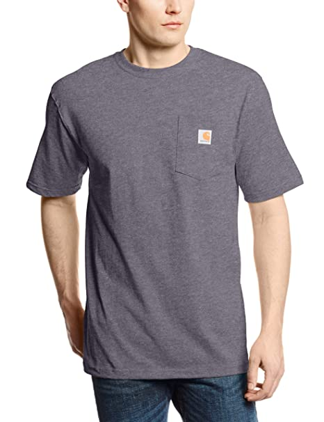 0b75f33def Carhartt Men's K87 Workwear Pocket Short Sleeve T-shirt (Regular and Big &  Tall