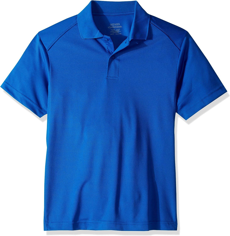 Burgundy 65108 X-Large Extreme Youth Snag Protection Polo Shirt