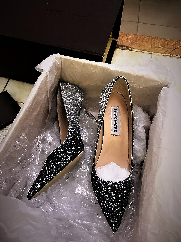 ZHANGYUSEN 2018 Das Neue Silber Silber Silber High-Heeled Schuhe Fein mit der Frauen Hingewiesen Pailletten Goldene Hochzeit Schuhe Schuhe Schuhe. 86d457