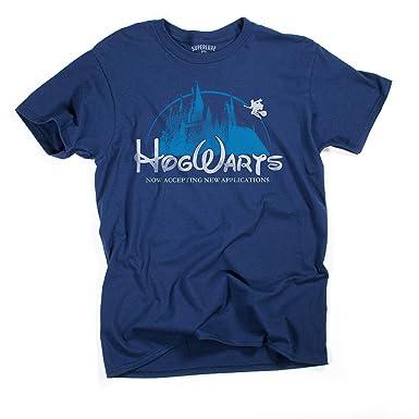 c0fbc53d8 Superluxe Clothing Mens Hogwarts Castle Harry Potter Funny Unisex Wizarding  World Quidditch T Shirt, Small