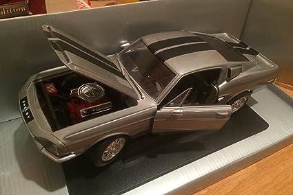 2008 Ford Shelby GT-500KR Black JADA 96729XW 1//24 Scale Diecast Model Toy Car