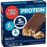 GMI FIBER ONE PROTEIN BAR 5 Piece Peanut Butter Chewy Bars, 5.85 oz