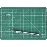 Alvin, Self-Healing Cutting Mat Kit, Double-Sided Mat with Art Knife, GBM Series, Gridded Rotary Cutting Board for Crafts, Se