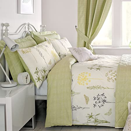 beyond evelyn green christy pin and bath bedroom king sage bed decor cover apartment duvet from