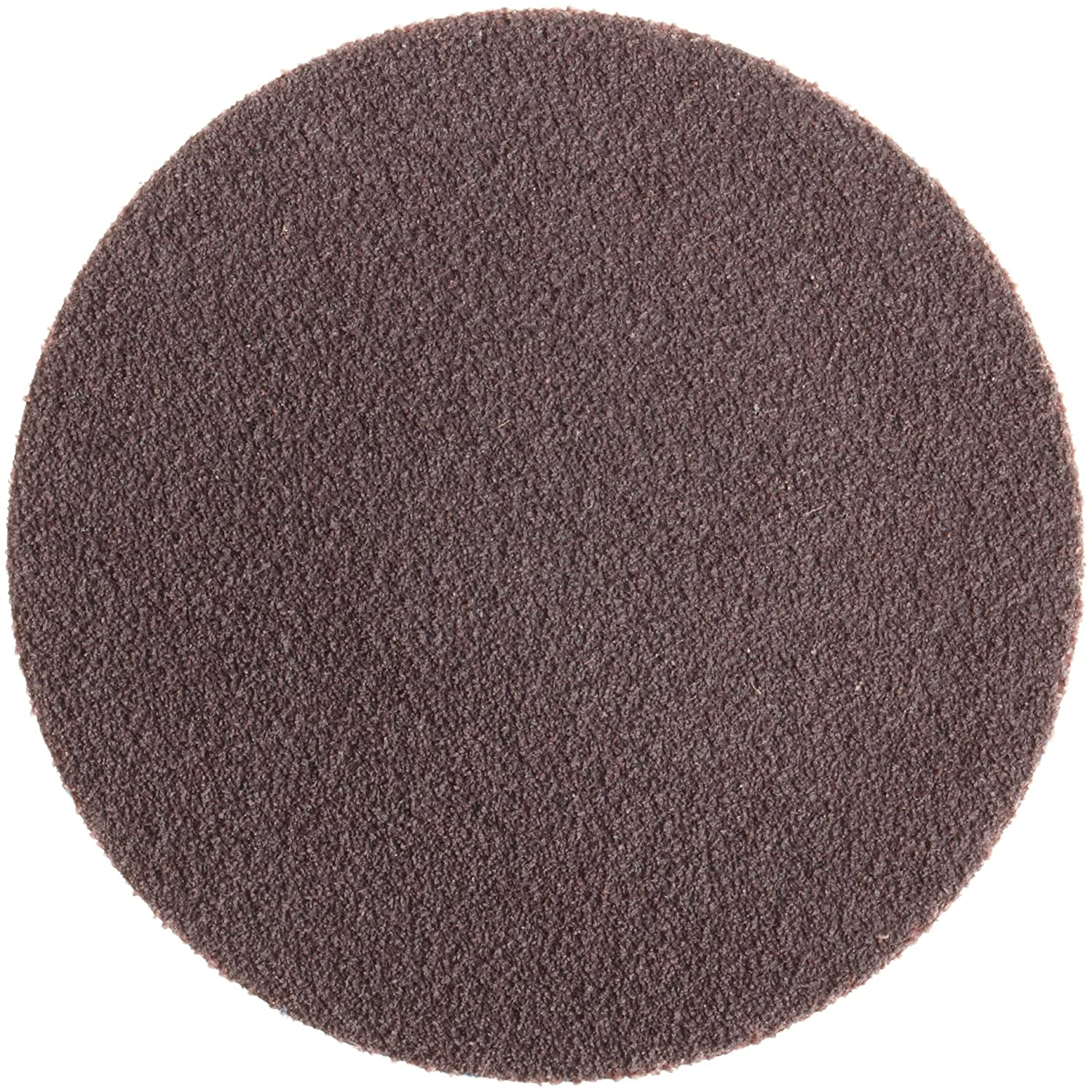 "Norton R228 Metalite Speed-Lok Abrasive Disc, Cloth Backing, TR, Aluminum Oxide, 3"" Diameter, Grit 80 (Pack of 50)"