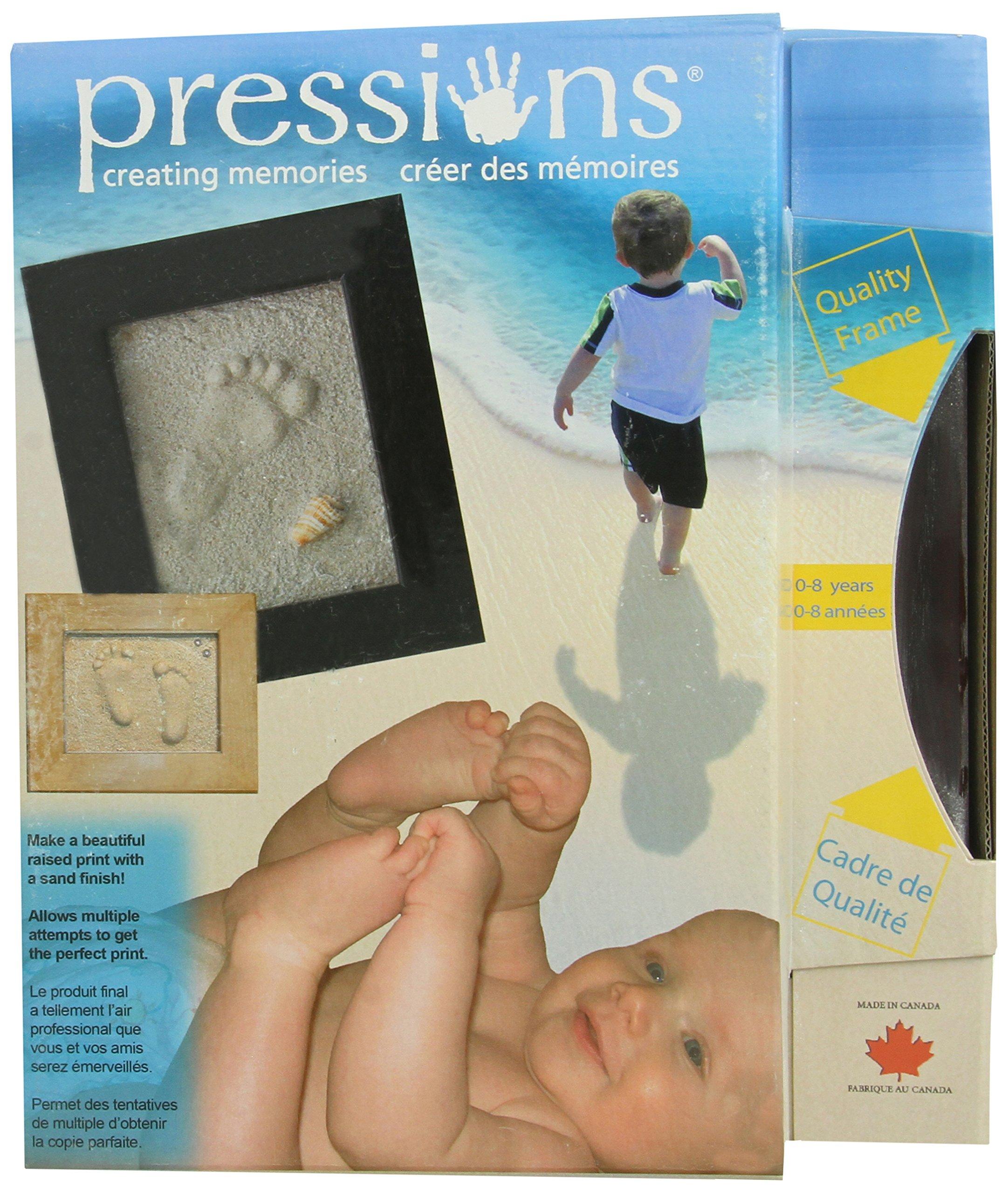 Pressions Handprint and Footprint Kit, Mahogany