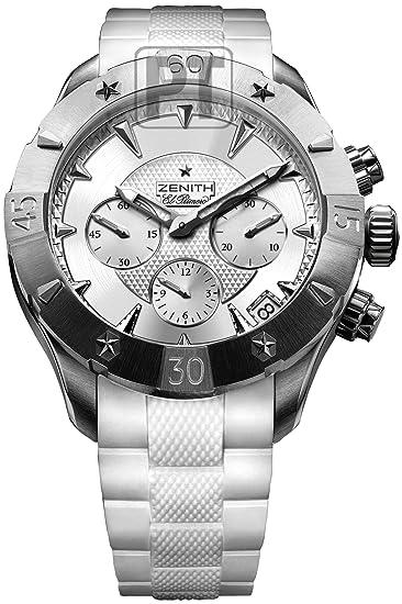9f5b8948db8 Zenith Defy Classic Lady Chronograph Womens Watch 03-0506-4000-01-R666   Zenith  Amazon.ca  Watches