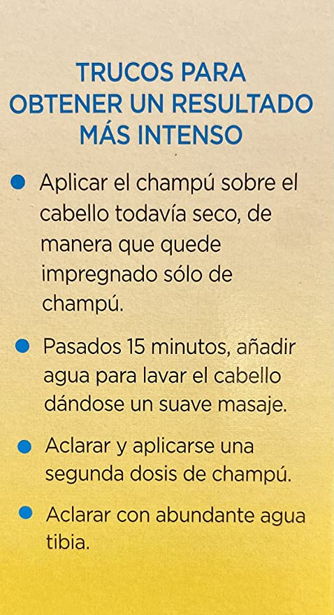keranove Champú Aclarante a la Camomila, Amarillo Claro, Floral, 250 Mililitros