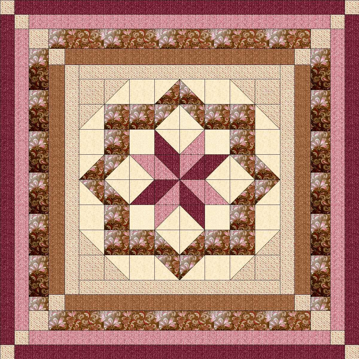 Easy Quilt Kit Constellation/KING/EXPEDITED SHIPPING