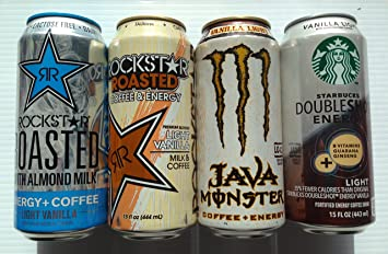 Amazoncom Rockstar Roasted Rockstar Almond Milk Monster Java