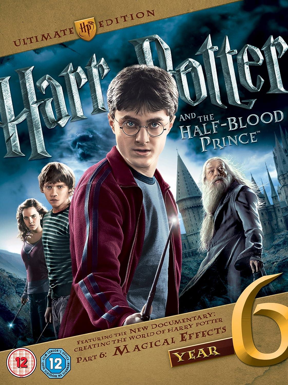 Harry Potter 6 Ultimate Collectors Edition Blu Ray Amazon De Dvd Blu Ray