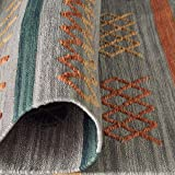 Stone & Beam Casual Geometric Cotton Rug, 8' x