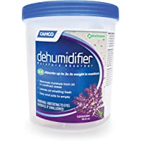 Camco 44280 Moisture Absorber Refillable Container - Absorbs Up to 3x Its Weight in Water, Reduces Moisture and Humidity…