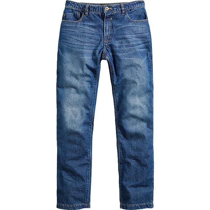 Spirit Motors Jeans Moto Pantalones de la Motocicleta Vaqueros de Motocicleta/algodón/aramida 1.0