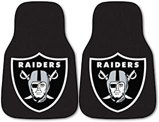 product image for FANMATS - 5934 NFL Oakland Raiders Nylon Face Carpet Car Mat