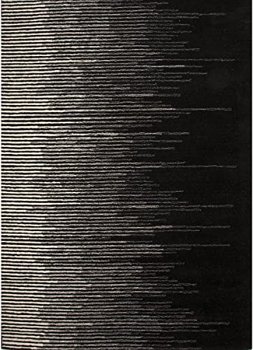 Jaipur Living Tabo Hand-Tufted Abstract Black Area Rug 2 X 3